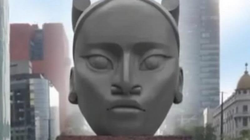 Sheinbaum recula sobre 'Tlali' en Reforma: un comité elegirá escultura