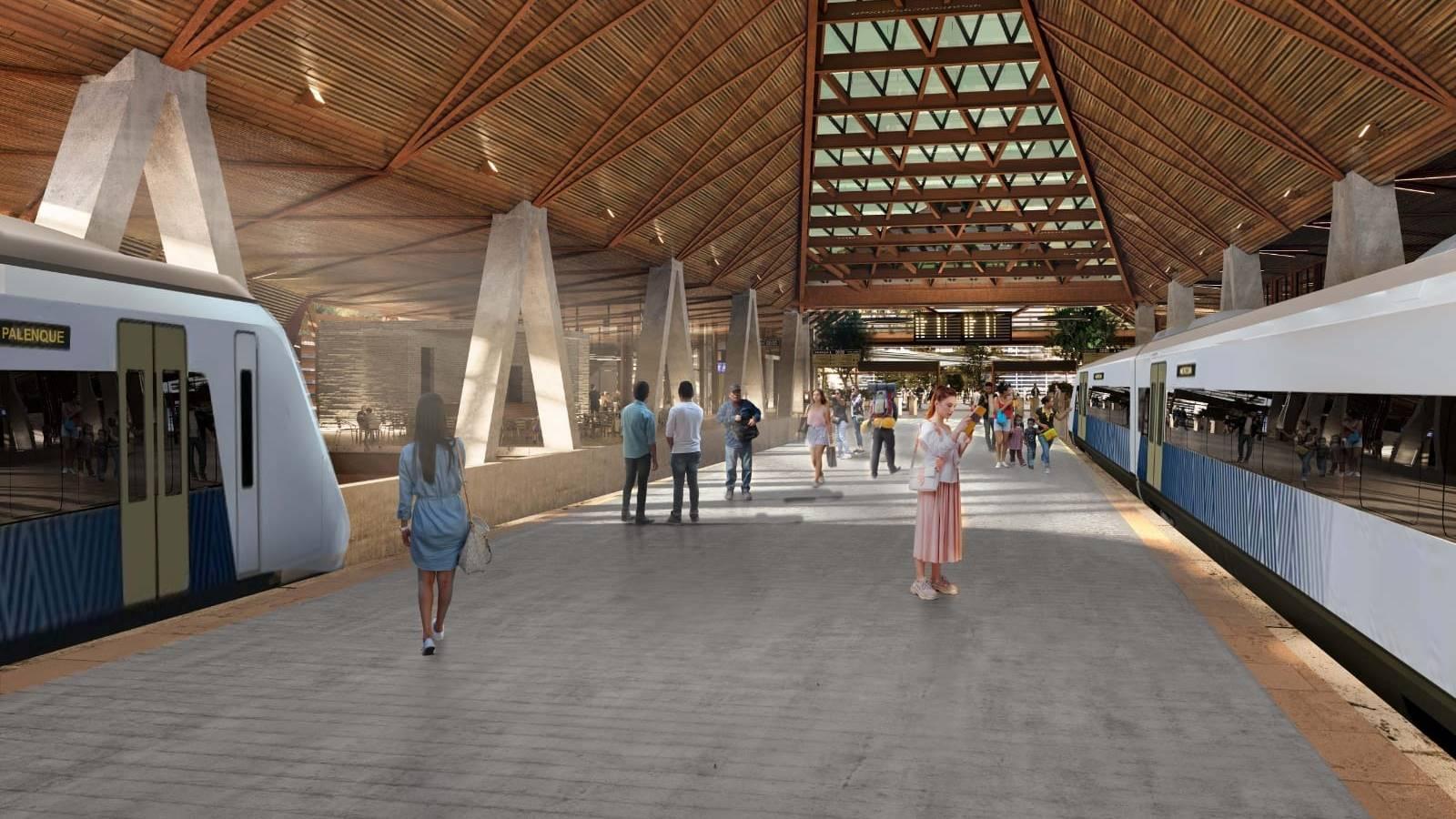 Fotogalería: Así será la estación Palenque del Tren Maya