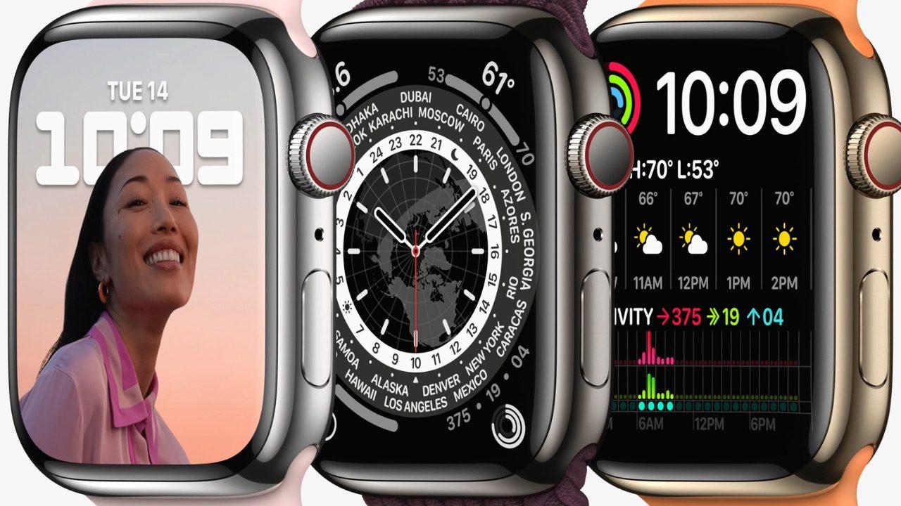 Con Apple Watch S7, la manzana quiere mantener la corona como la relojera más grande del mundo