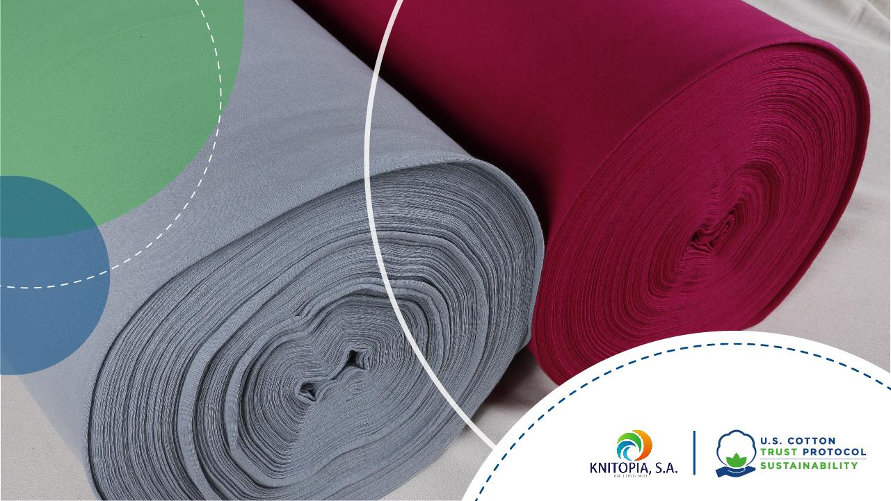 Knitopia es parte del U. S. Cotton Trust Protocol por su compromiso con el medio ambiente