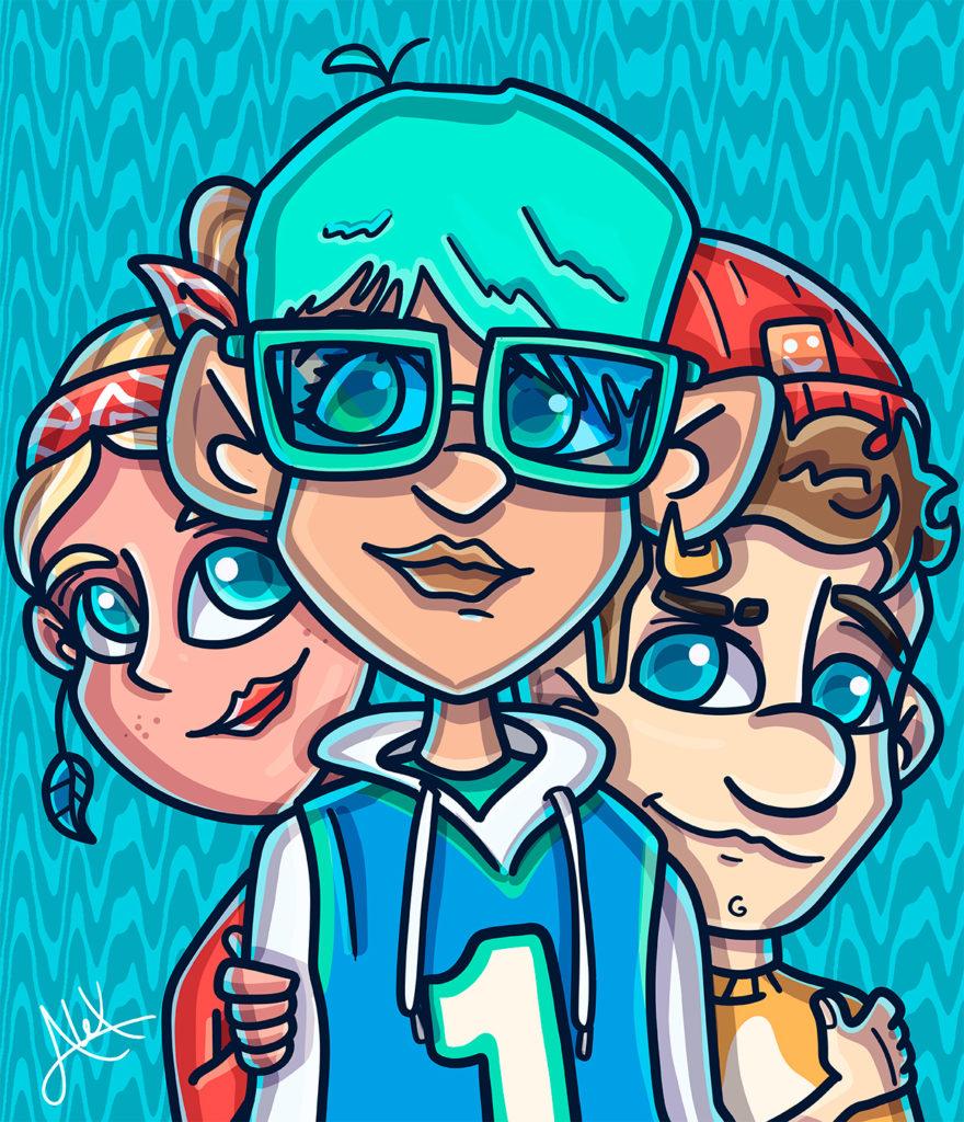 Alex Carrillo Ilustración Gang
