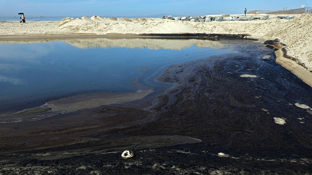 Fotogalería: Derrame de petróleo en aguas de California