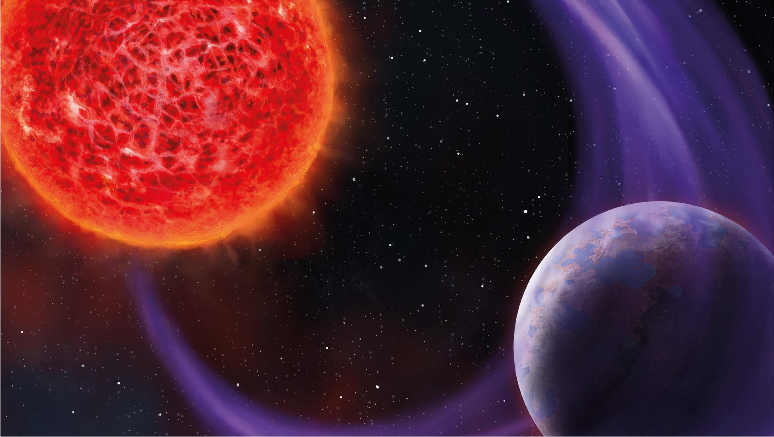 Descubren señales de radio de posibles planetas situados fuera del sistema solar