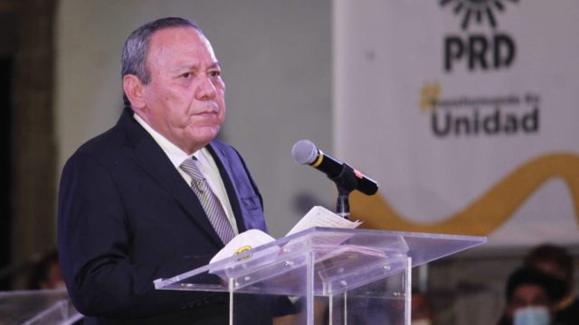 Jesús Zambrano, líder del PRD. Foto: PRD