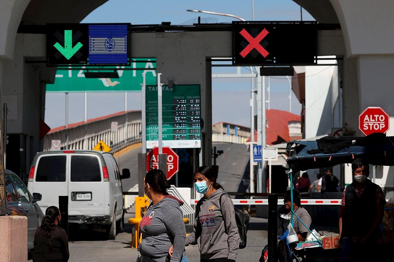 Empresarios de Ciudad Juárez celebran apertura de fronteras con EU