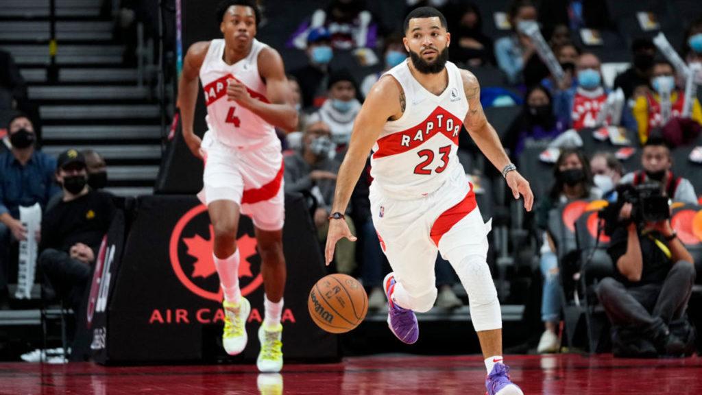 Fred VanVleet Toronto Raptors