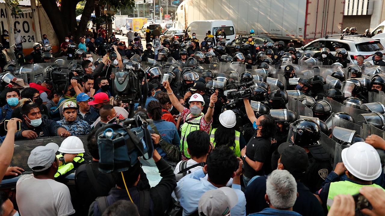 Fotogalería: Paro de gaseros indefinido