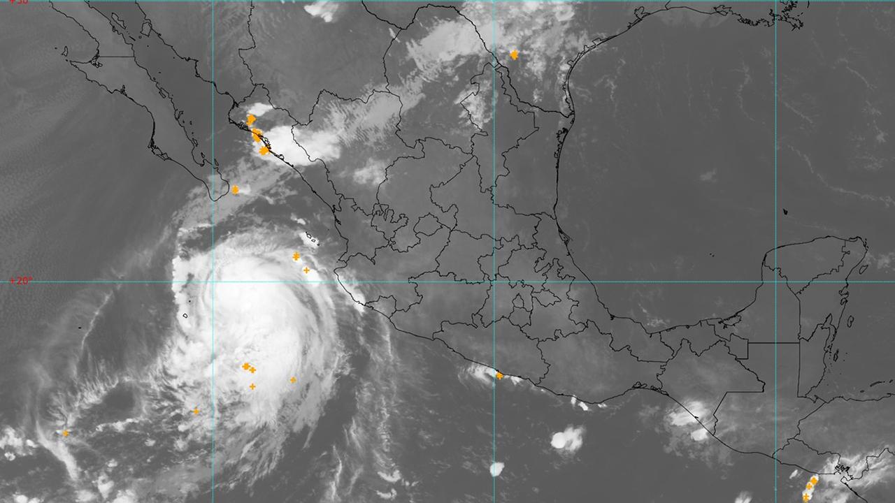 Pamela se convierte en huracán rumbo a las costas del Pacífico