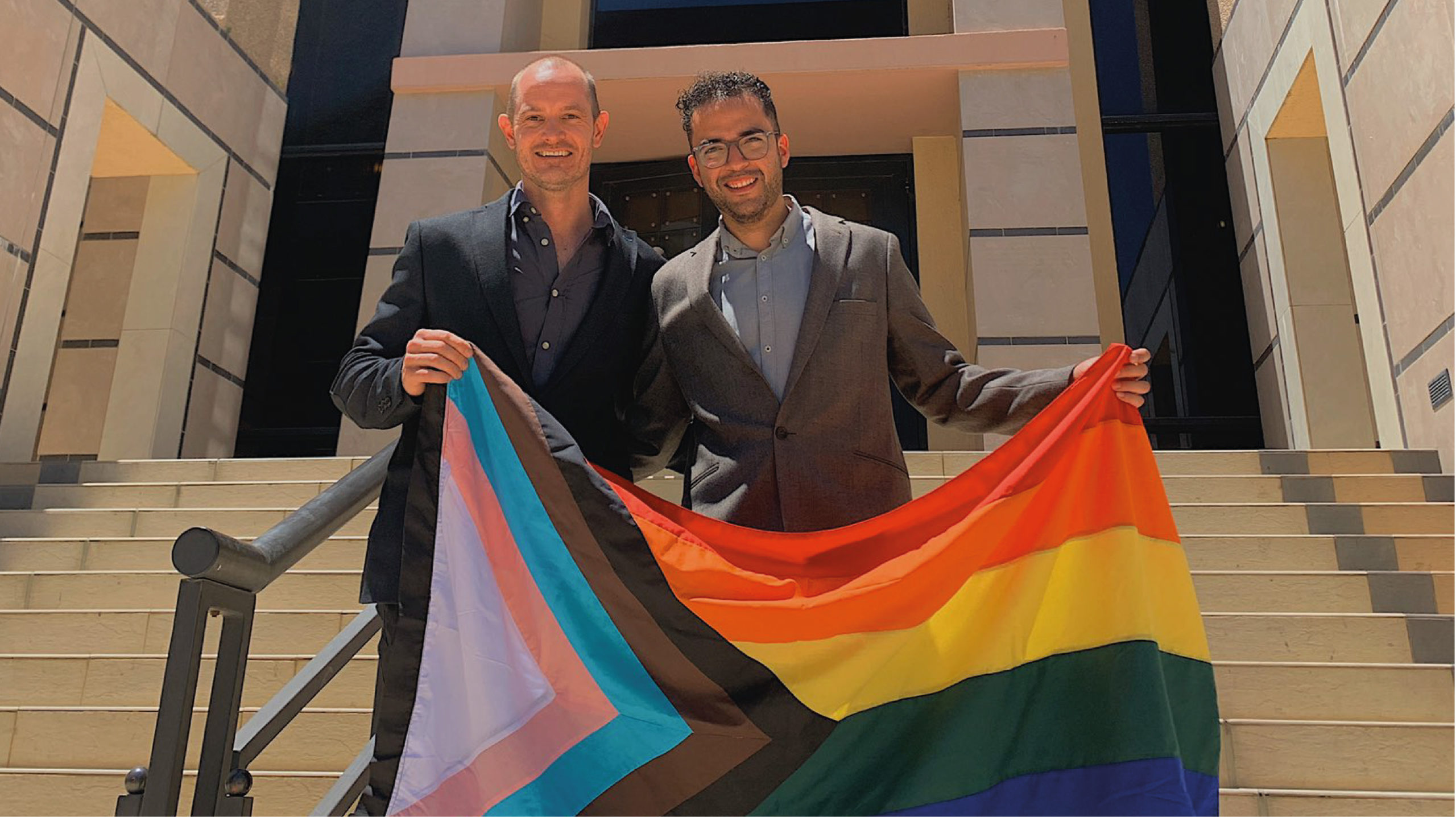 Pareja gay mexicano-namibia gana juicio por la ciudadanía de su hijo