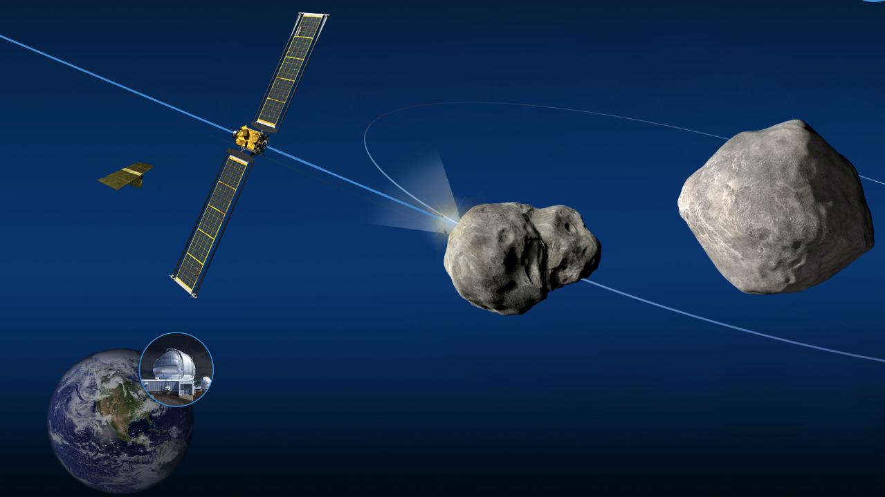 NASA evalúa mecanismo de defensa planetaria: impactará un asteroide como prueba