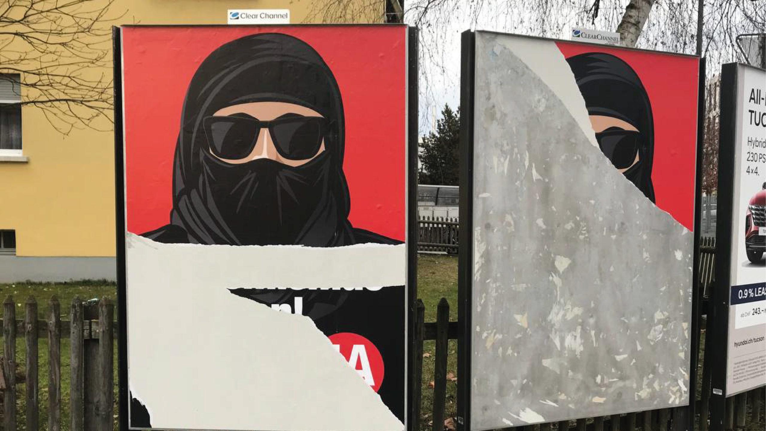 Cubrirse todo el rostro estará prohibido en Suiza