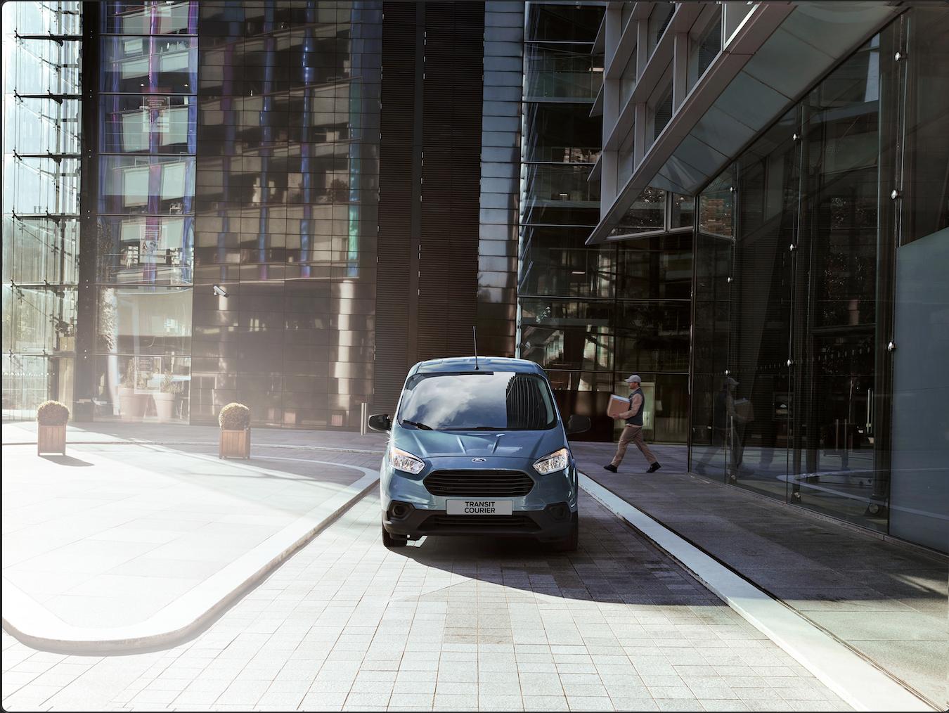 Ford Transit Courier 2021: kilómetros de posibilidades para los negocios