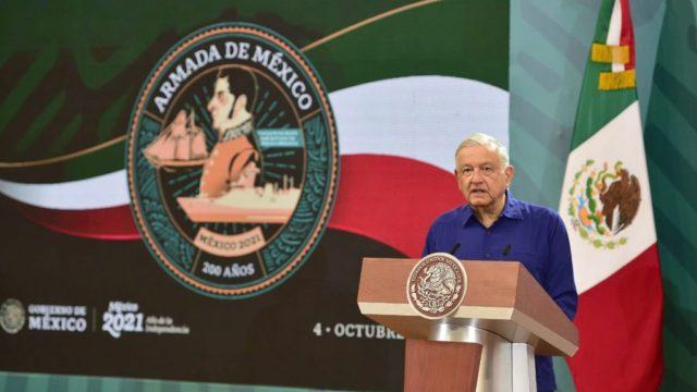El presidente López Obrador en Puebla. Foto: Gobierno de México
