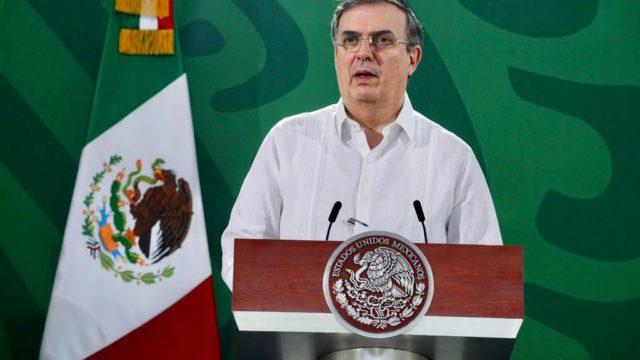 El canciller Marcelo Ebrard. Foto: Presidencia
