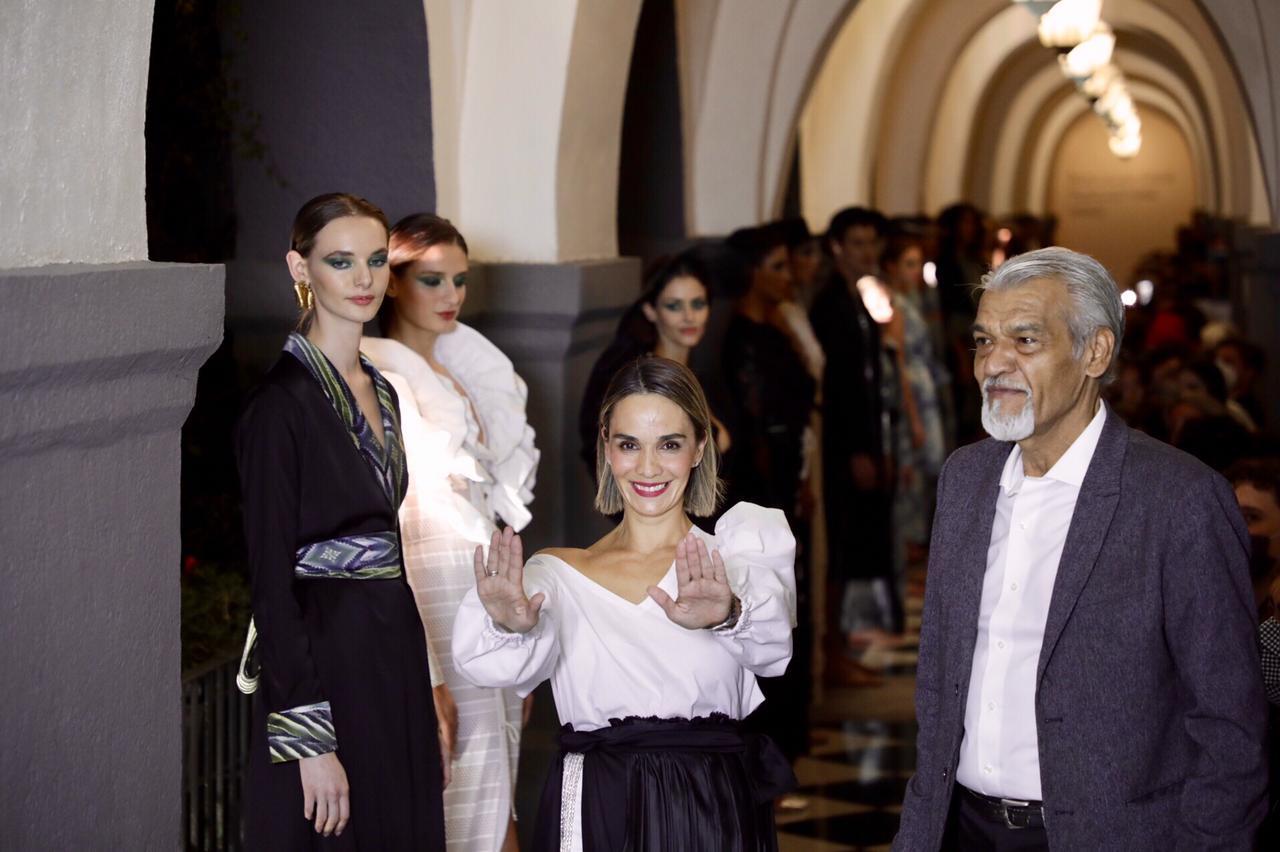 Daniela Villa muestra la esencia de 'Mexiterráneo' en el Fashion Week Mx
