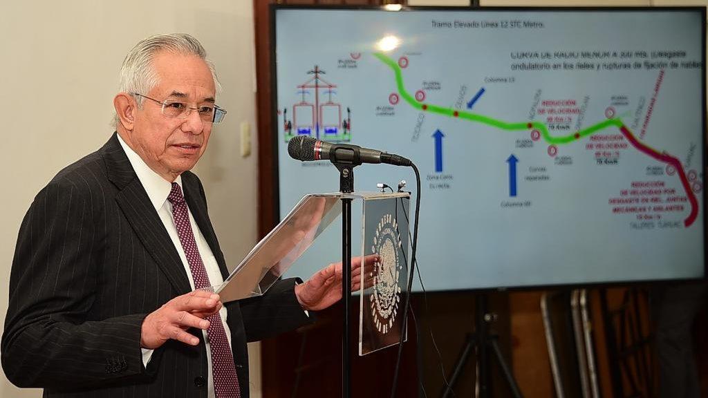 Caso Línea 12: exdirector del Metro rechaza acusación y señala a Ebrard