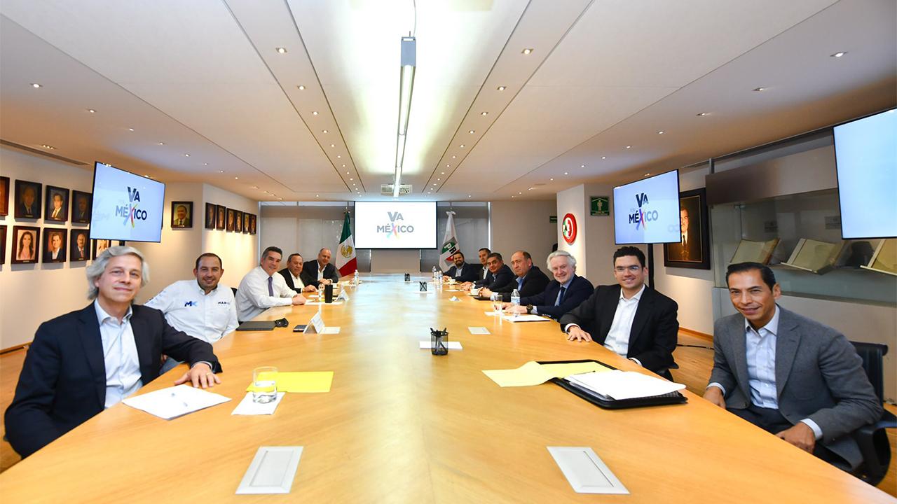 PAN, PRI, PRD y Claudio X. González, la promiscuidad política: AMLO