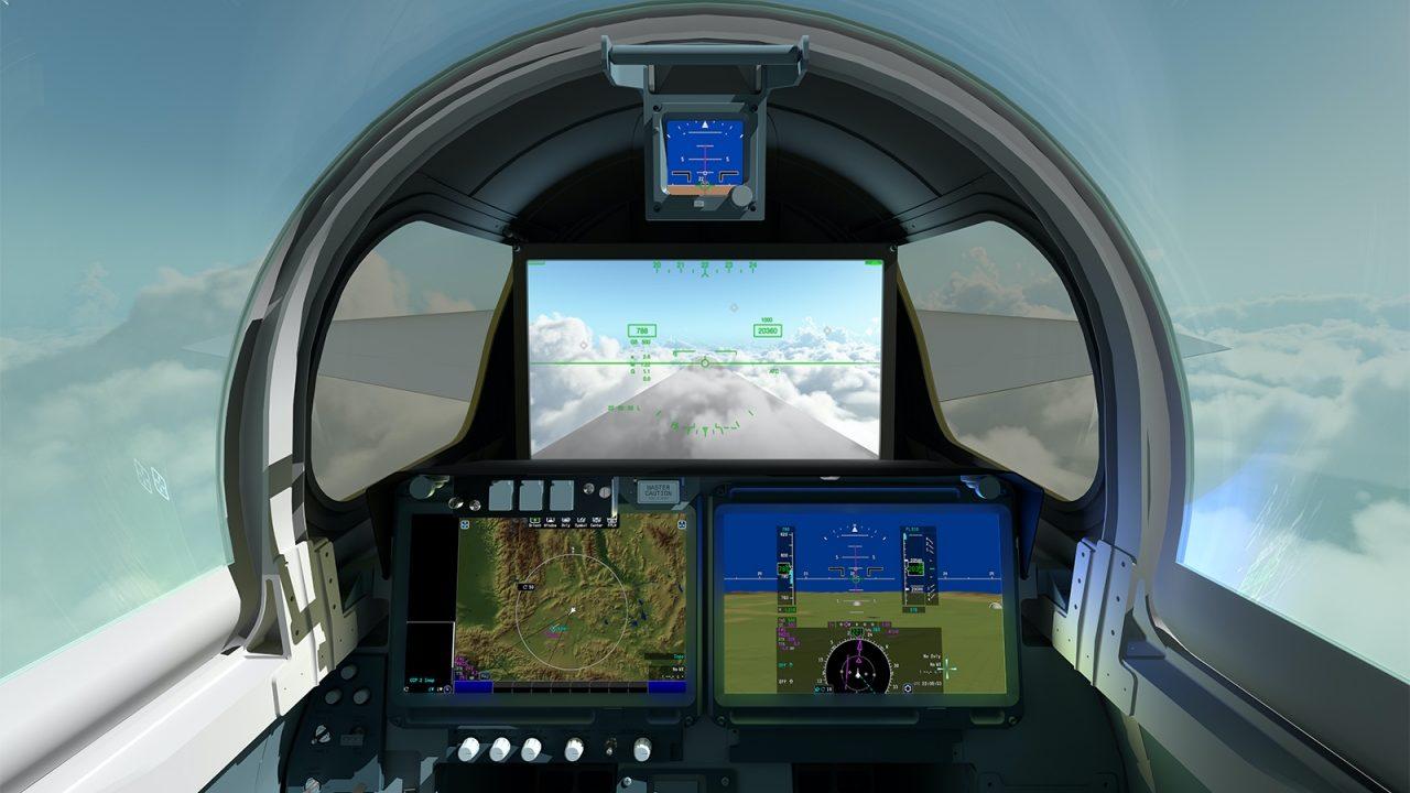 El nuevo avión supersónico de la NASA X-59 tendrá una cabina sin parabrisas