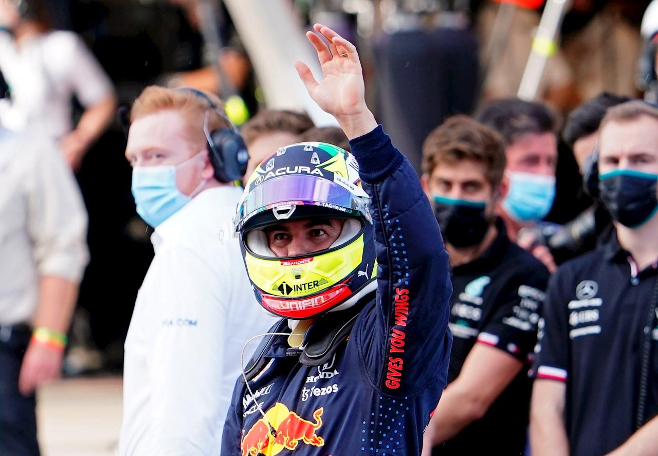 Checo Pérez suma otro podio: acaba tercero en el GP de Estados Unidos