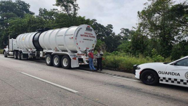 contrabando combustibles