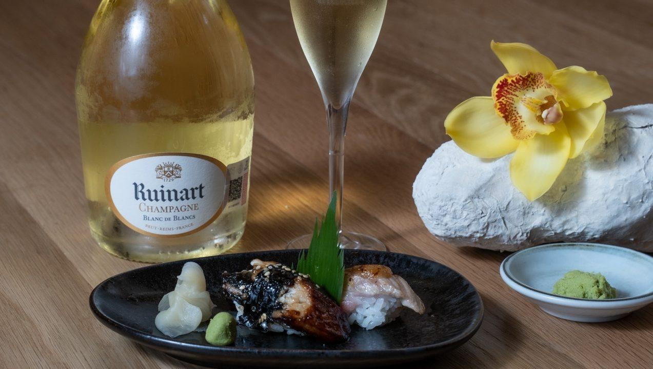 experiencia gastronómica champagne