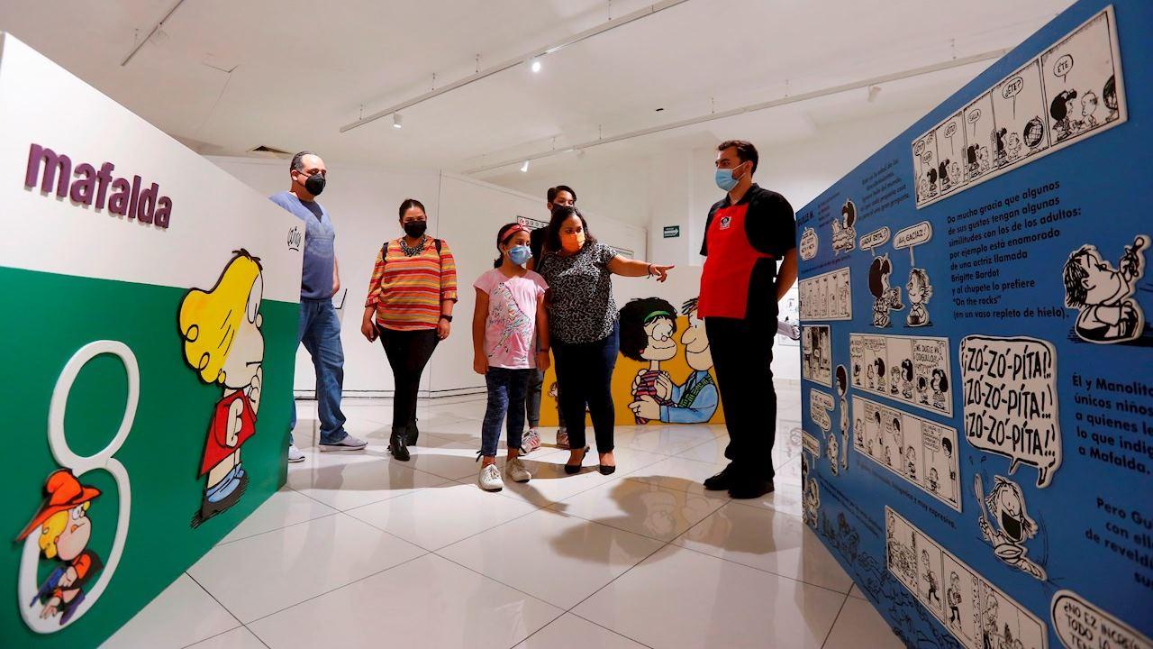 El mundo de Mafalda llega a México con una expo interactiva; visita primero Guadalajara