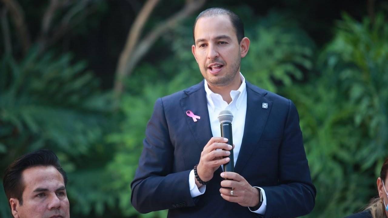 Piso parejo en el PAN para los aspirantes a 2024, promete Marko Cortés