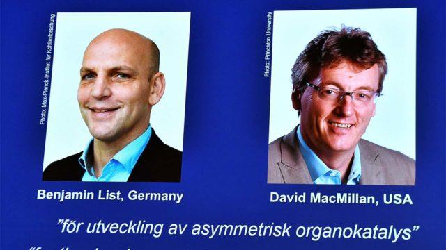 Científicos Benjamin List y David MacMillan ganan Nobel de Química 2021