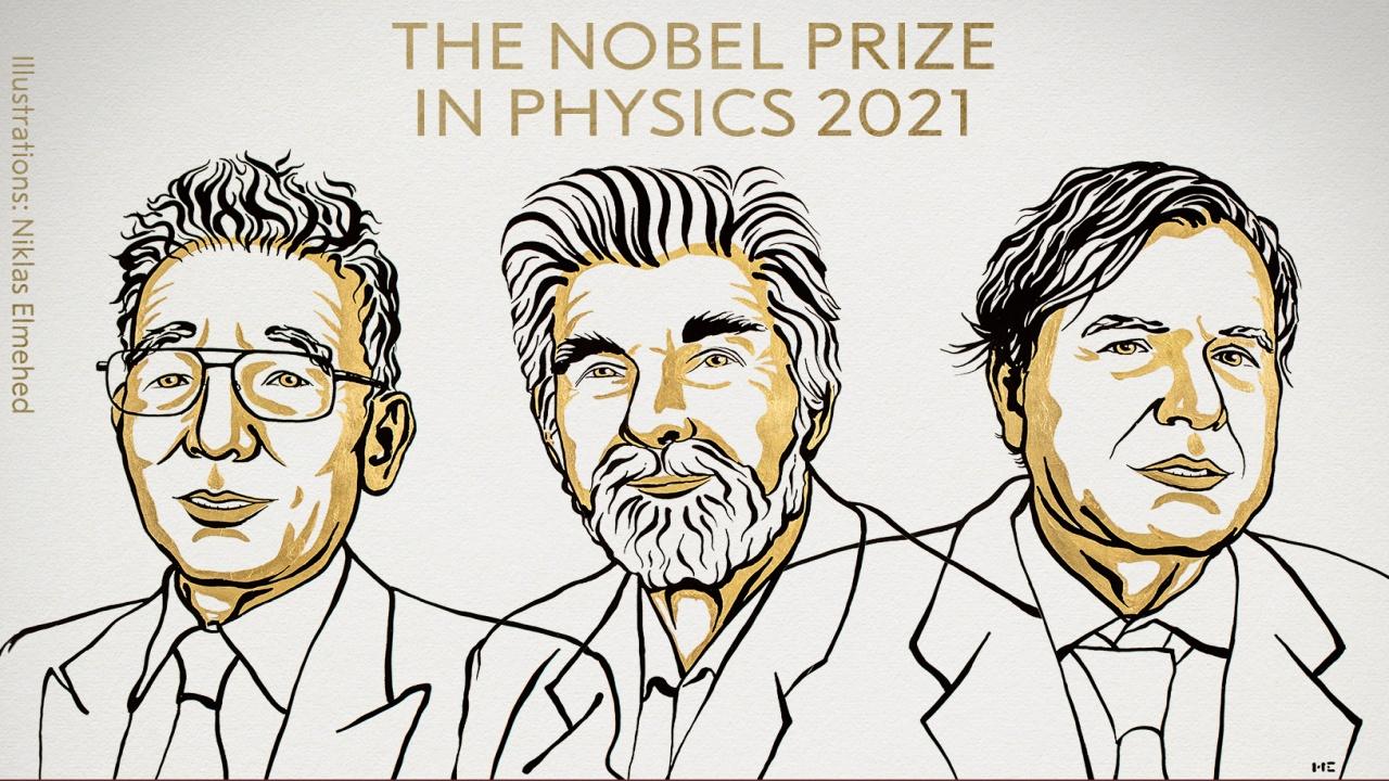 Nobel de Física 2021 a tres científicos por sus trabajos para descifrar el caos del clima