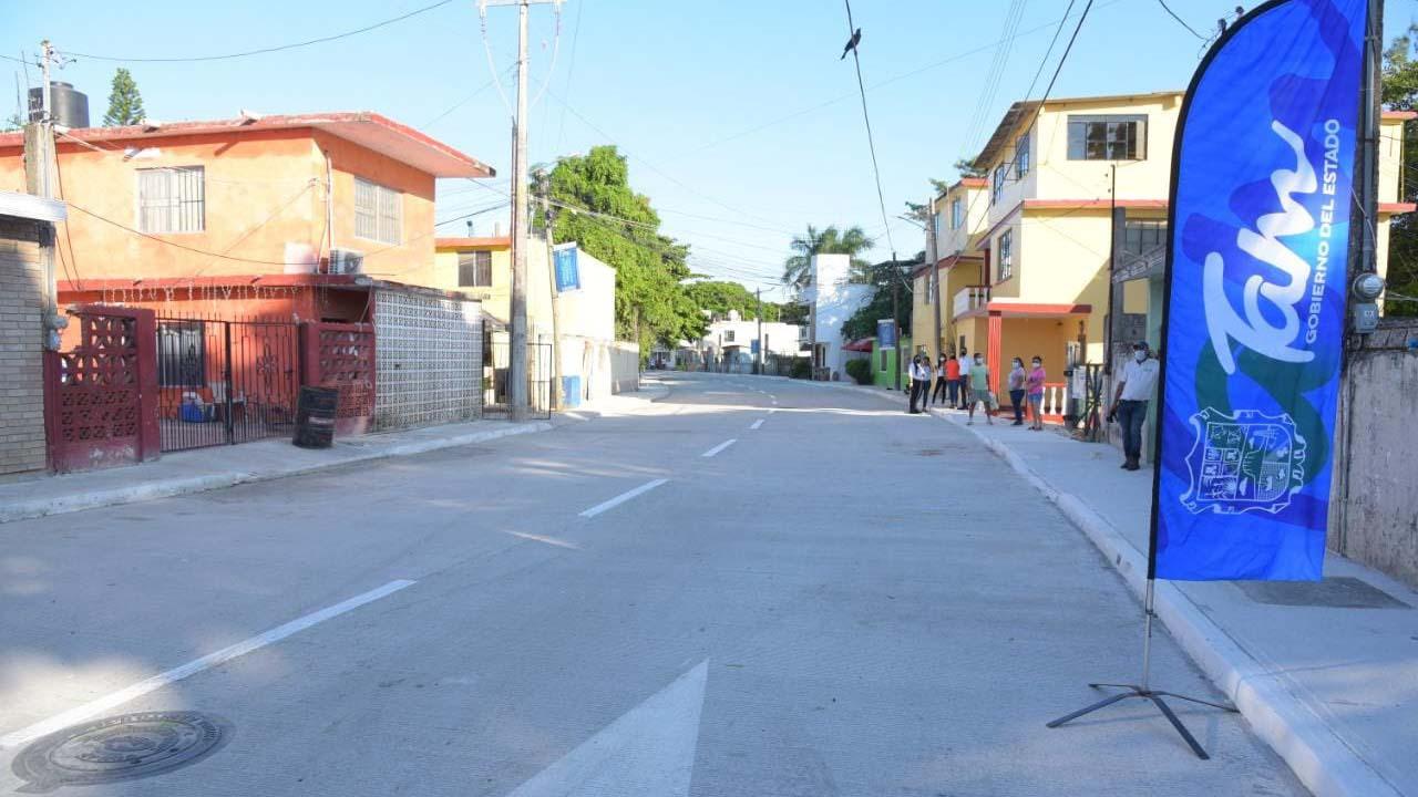 Modernizan infraestructura vial en Tampico con inversión de más de 24 mdp