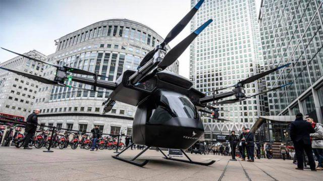 Taxis voladores empezarán a operar en 2024, según firma británica Vertical Aerospace