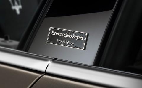El sedán de lujo de Maserati y Ermenegildo Zegna