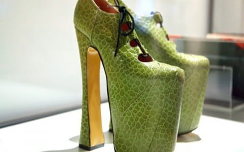 Los zapatos altos que cautivan a Brooklyn