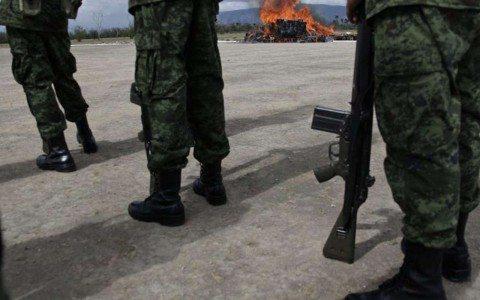 Los militares como arma electoral