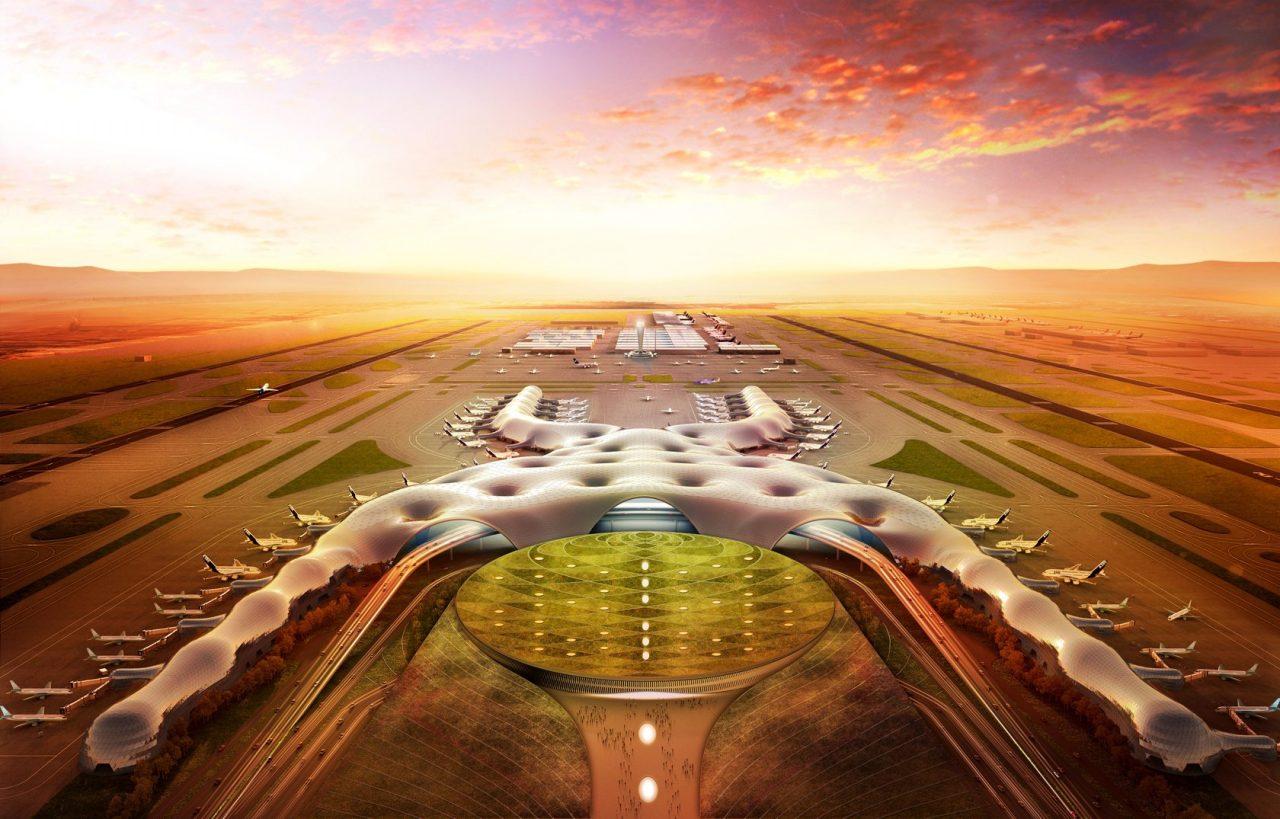 Slim e ICA firman contrato para construir la terminal del Nuevo Aeropuerto