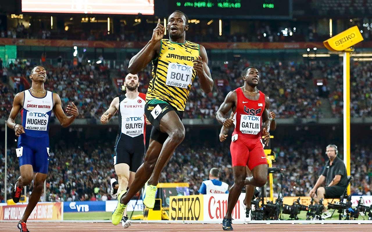 Usain Bolt, más grande que Michael Jordan y Tiger Woods