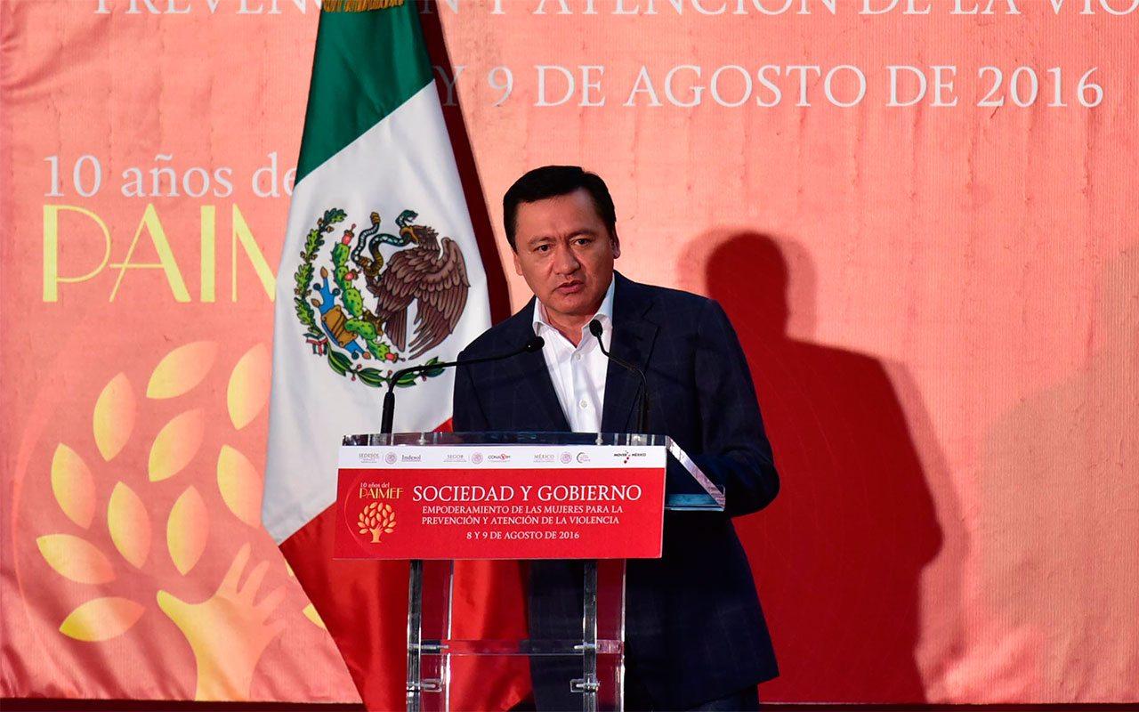 Osorio Chong asegura que Ley de Seguridad Interior no militarizará al país