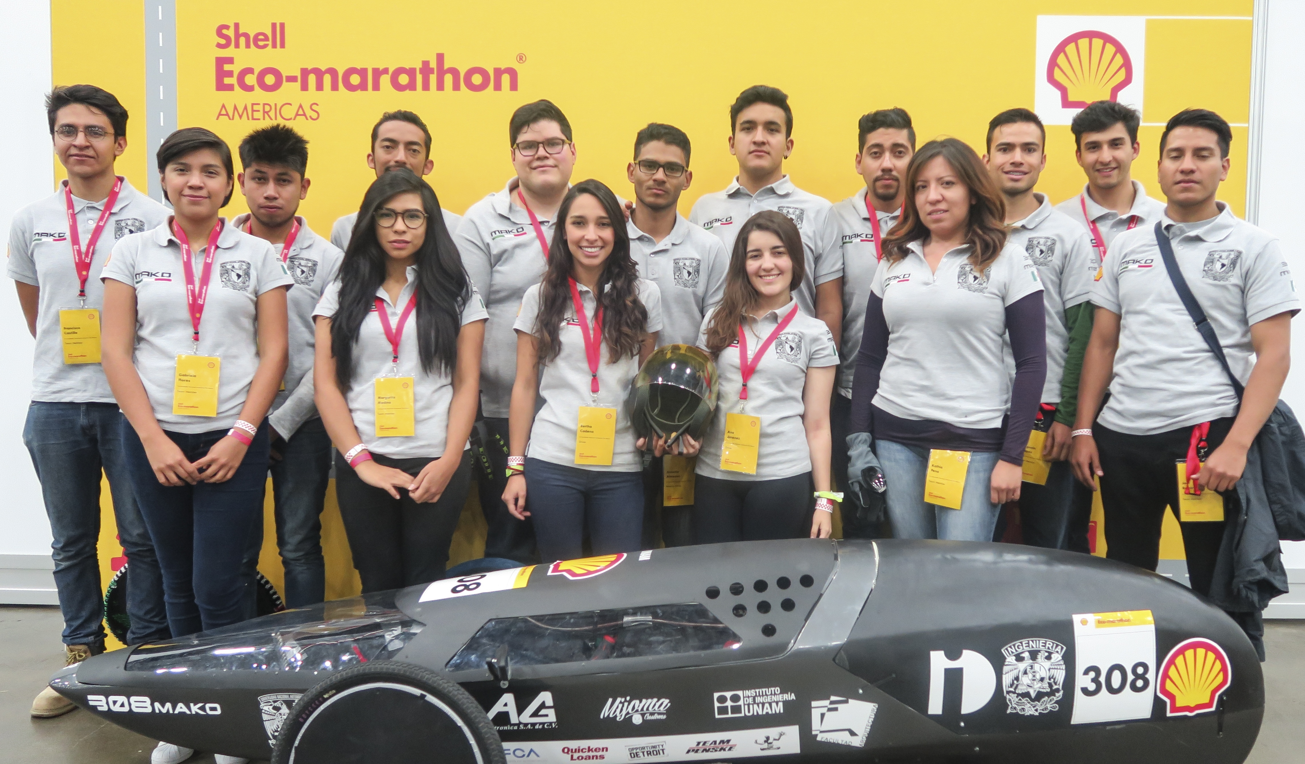 Los estudiantes de la UNAM que conquistaron a Shell con un auto eléctrico