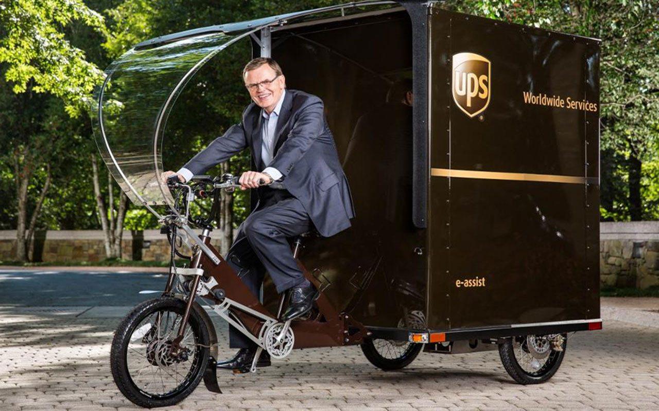 UPS, de la entrega de paquetes al transporte de pasajeros