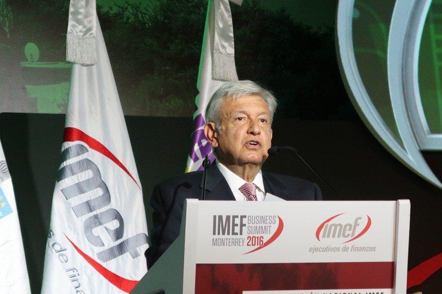 AMLO es visto por los inversionistas de Nueva York y Londres como Lula