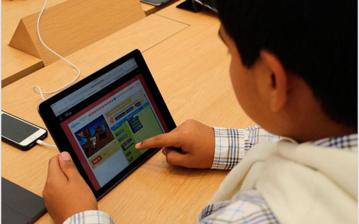 Apple quiere que los niños aprendan programando