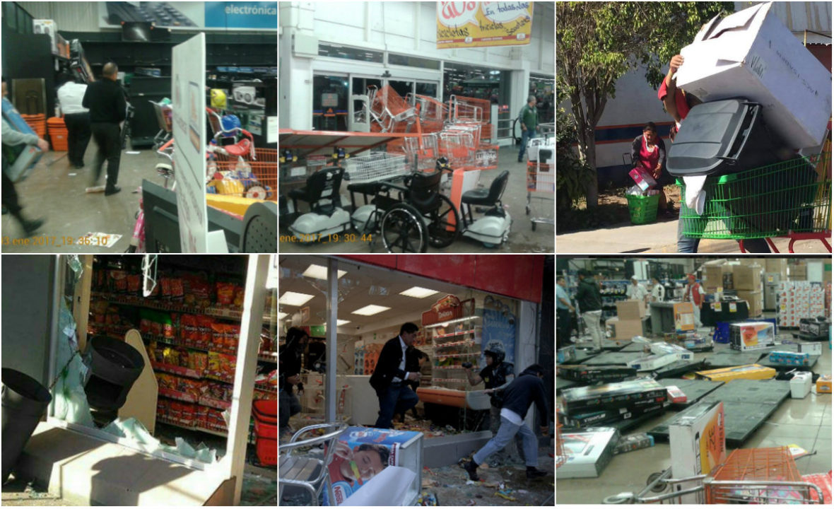 Saqueos por gasolinazo costaron 1,922 mdp a tiendas