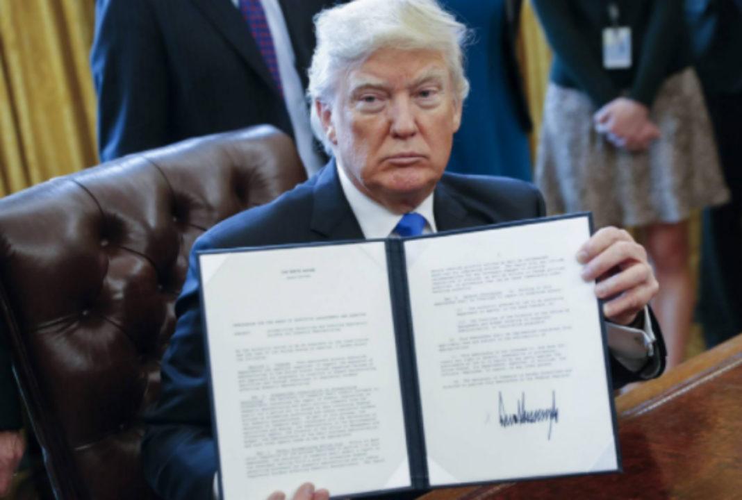 Trump firma orden para acabar con los cárteles del narco en EU