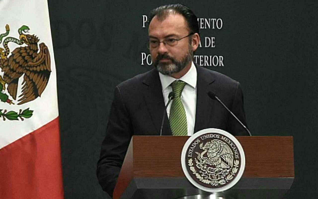 México no aceptará nuevas medidas migratorias de EU: Videgaray