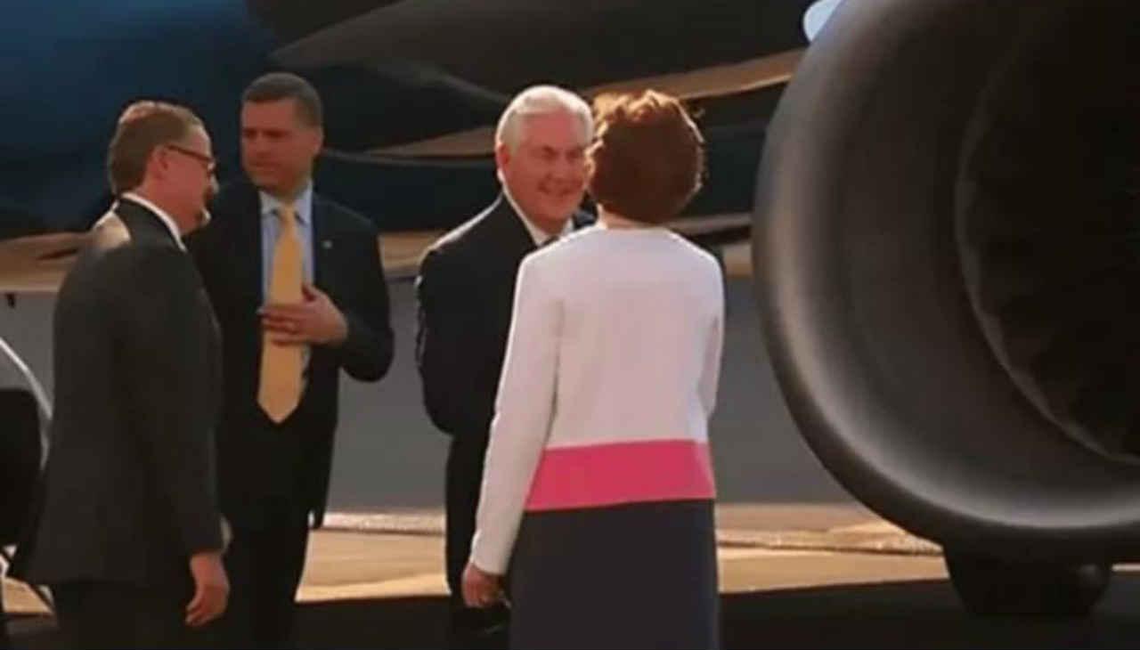 Rex Tillerson, secretario de Estado de Trump arriba a México