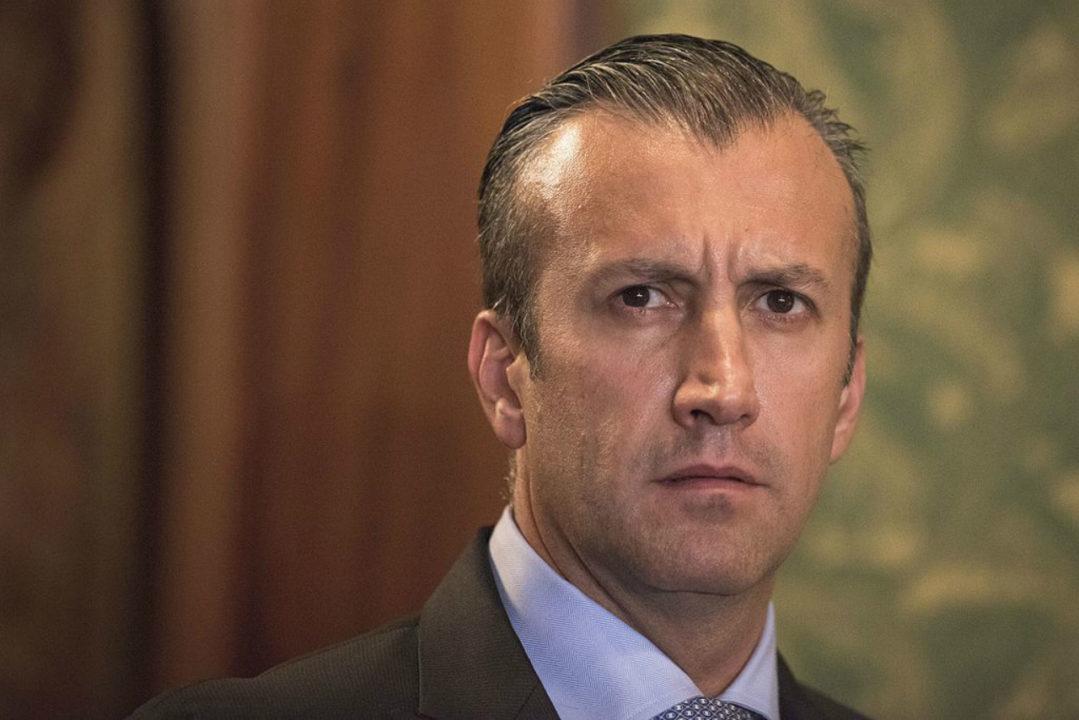 EU sanciona al vicepresidente de Venezuela por narcotráfico