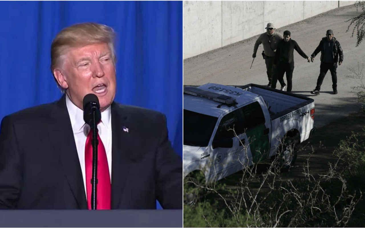 Trump quiere usar a la Guardia Nacional para detener a inmigrantes