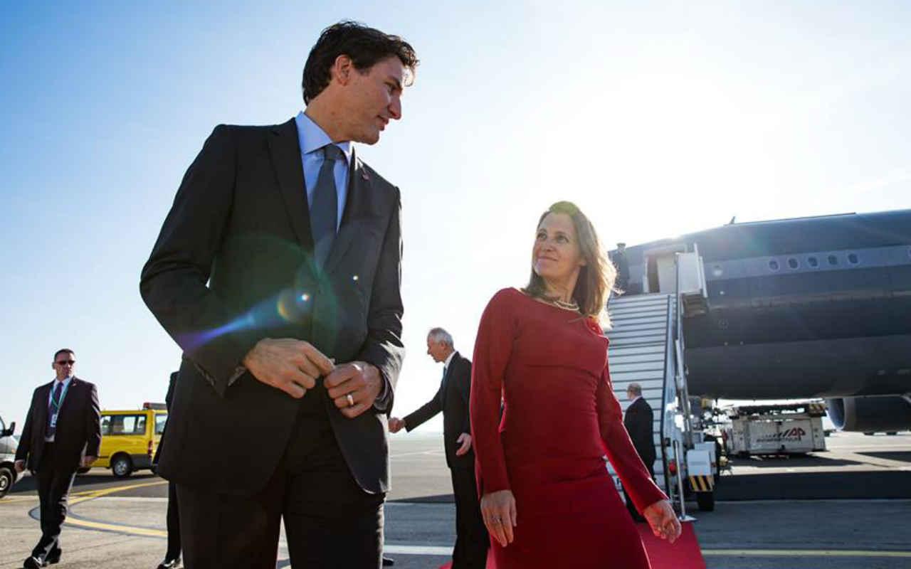 Canadá amenaza con responder a impuestos fronterizos de Trump