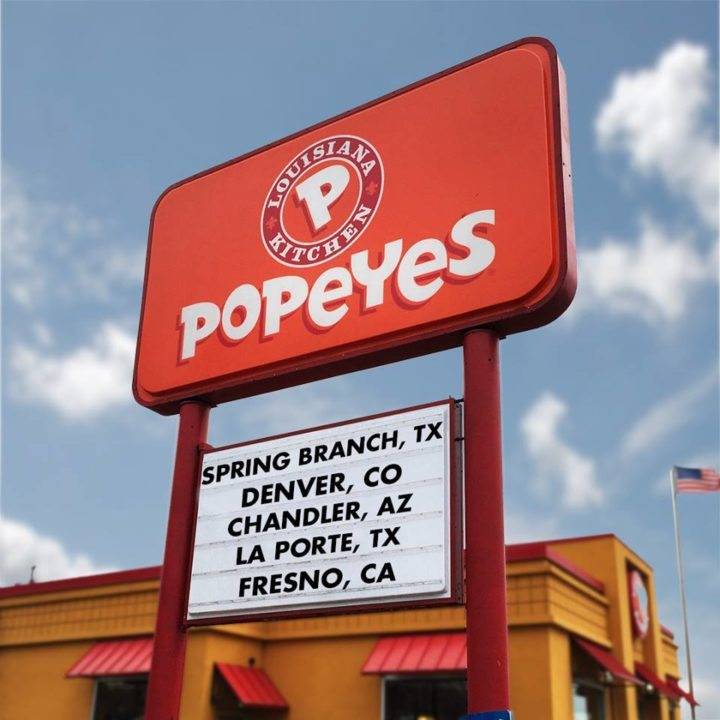 Dueños de Burger King y Tim Hortons compran cadena Popeyes
