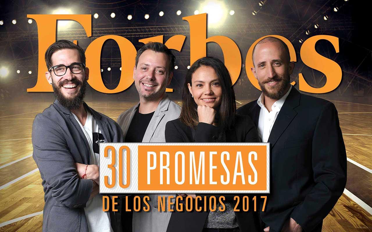 Las 30 promesas de los negocios de Forbes en 2017